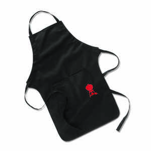 Weber  Black  Cotton  Solid  Apron