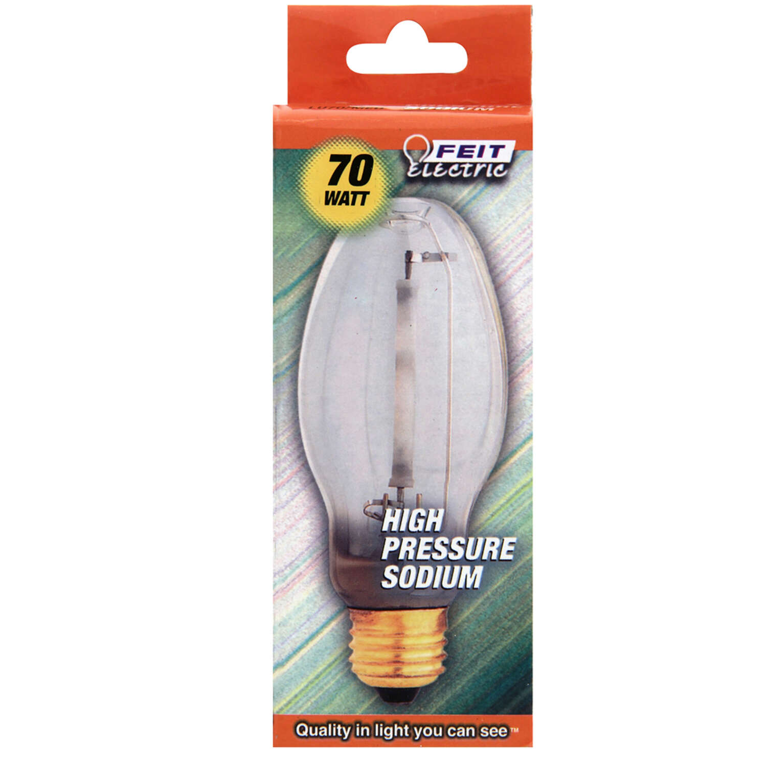Feit Electric  70 watt ED17  HID Bulb  6000 lumens Daylight  High Pressure Sodium  1 pk