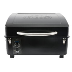 Traeger  Scout  Wood Pellet  Portable  Grill  Black