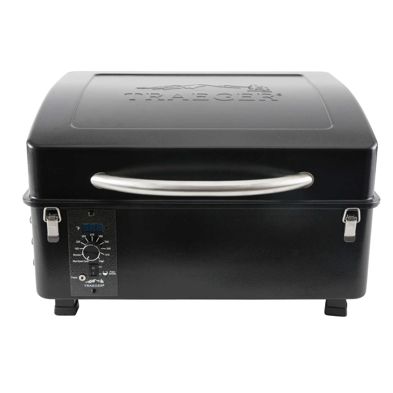Traeger  Scout  Black  Wood Pellet  Grill