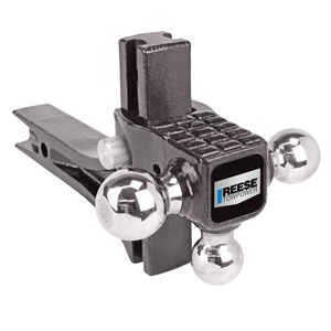 Reese  Towpower  Steel  Tri-Ball Mount
