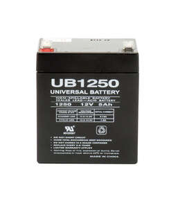 Universal Power Group  UB1250  5 amps Lead Acid Automotive Battery