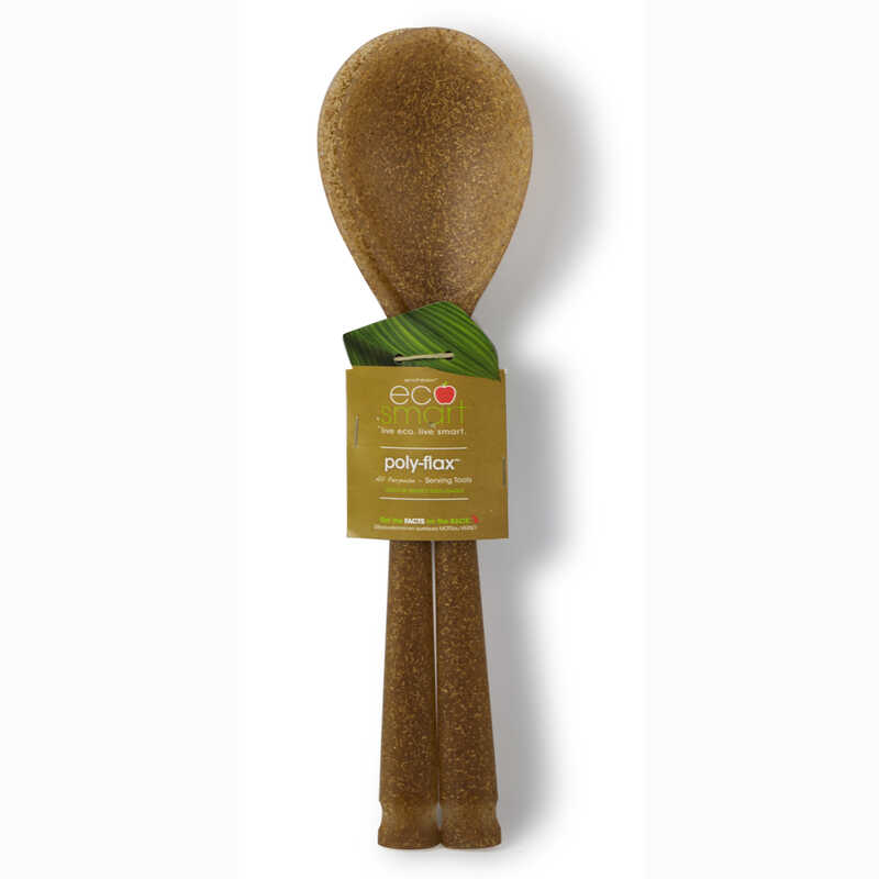 Ecosmart by Architec  13 in. L x 3 in. W Brown  Serving Spoons