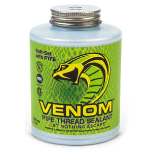 Gasoila  Venom  Natural  Pipe Thread Sealant  16 oz.