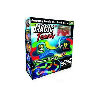 Magic Tracks  Car Race Tracks  Plastic  As Seen on TV