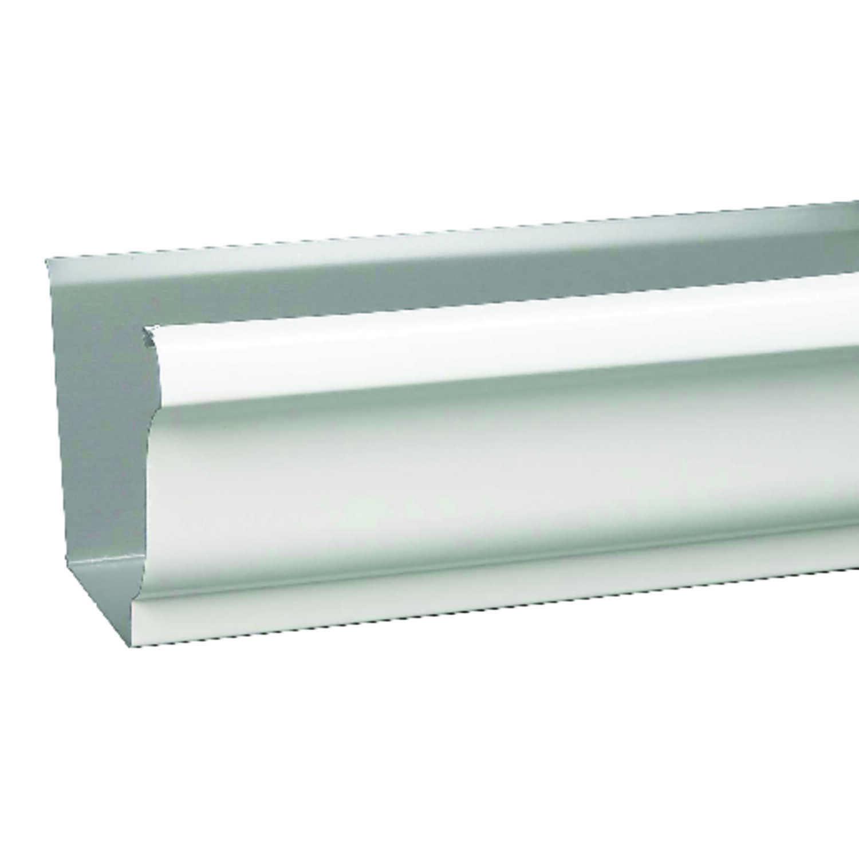 Amerimax 3 5 in  H x 5 in  W x 120 in  L White Aluminum K
