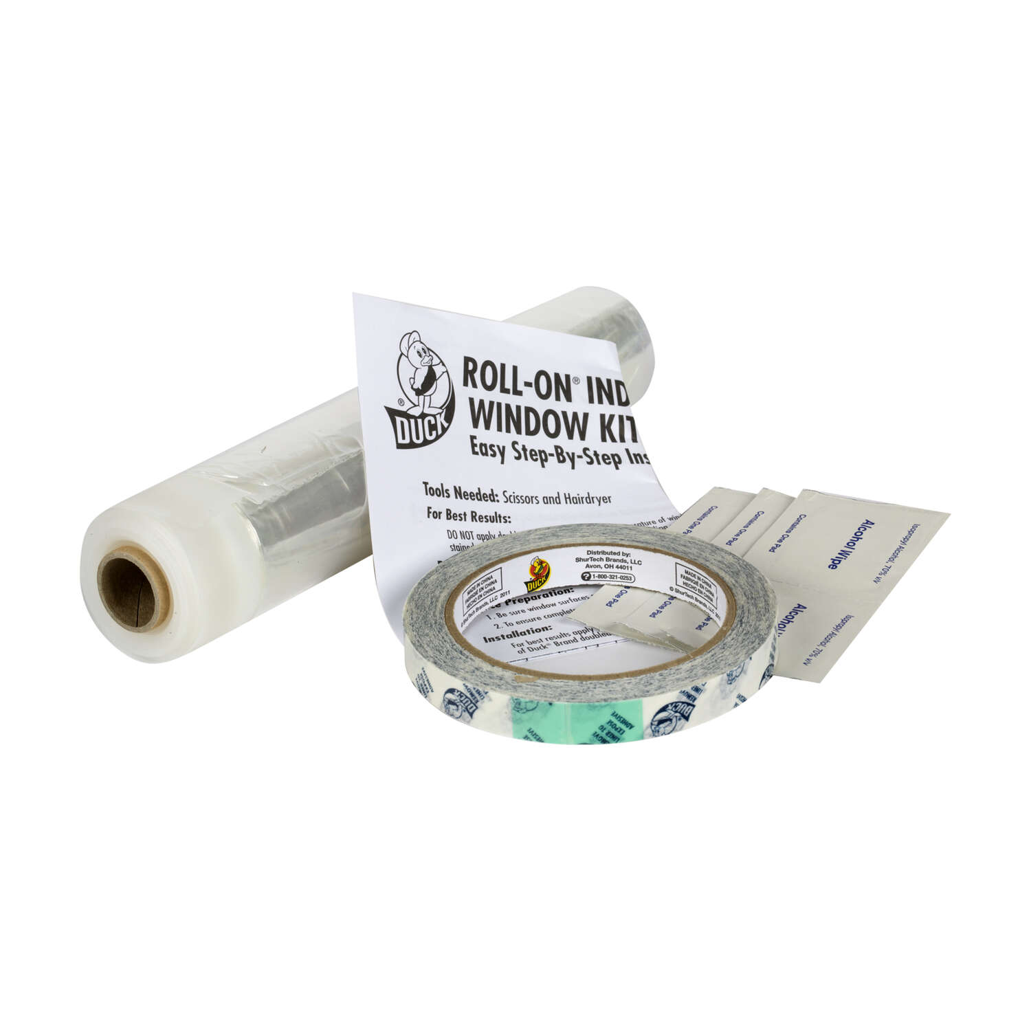 Duck Roll On Clear Indoor Window Film Insulator Kit 62 In W X 200 Trailer Wiring Harness Tractor Supply