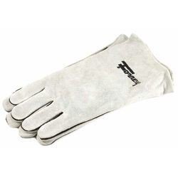 Forney  13.5 in. Cowhide  Welding Gloves  Gray  L  1 pk