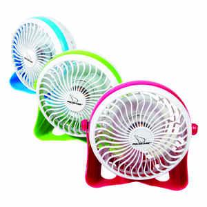 Polar Aire  4 in. 1 speed Electric  Oscillating Personal Fan