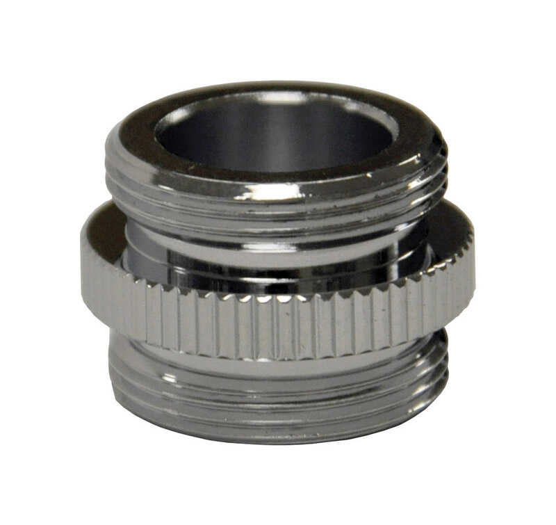 Danco  Male Aerator Adapter  3/4 in.  Chrome Plated