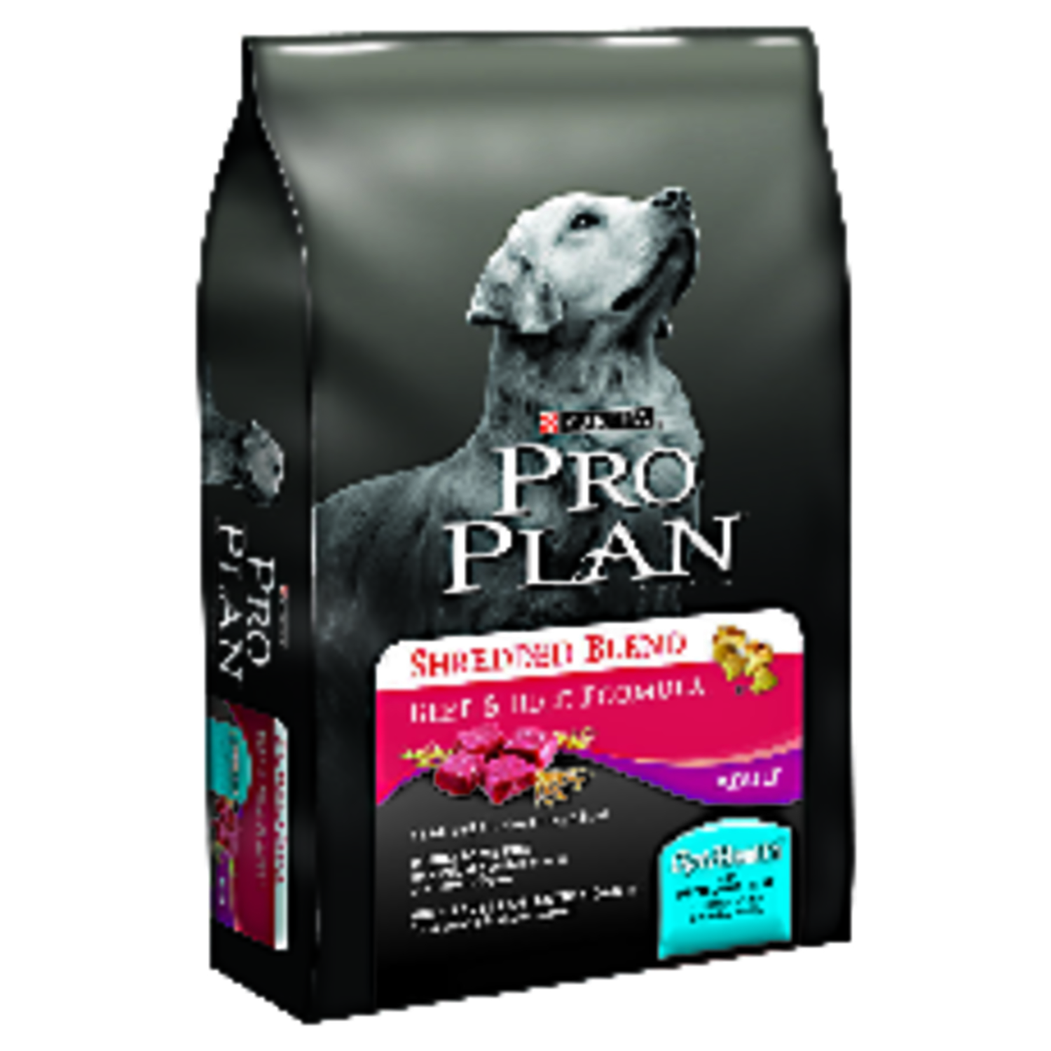 Purina  Pro Plan Shredded Blend  Beef and Rice  Dry  Dog  Food  35