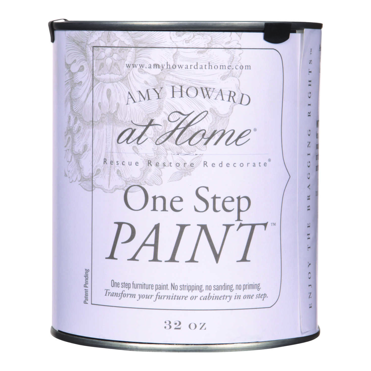 Amy Howard at Home  Mollie Yellow  Latex  One Step Paint  32 oz. Flat Chalky Finish