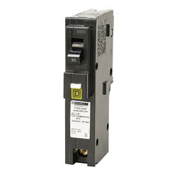 Square D  HomeLine  20 amps Arc Fault  Single Pole  Circuit Breaker
