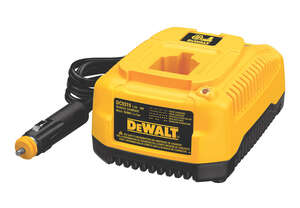 DeWalt  18 volts Lithium-Ion/Ni-Cad/NiMH  Vehicle Battery Charger  1 pc.