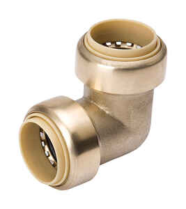 ProLine  push  Push  Brass  Elbow