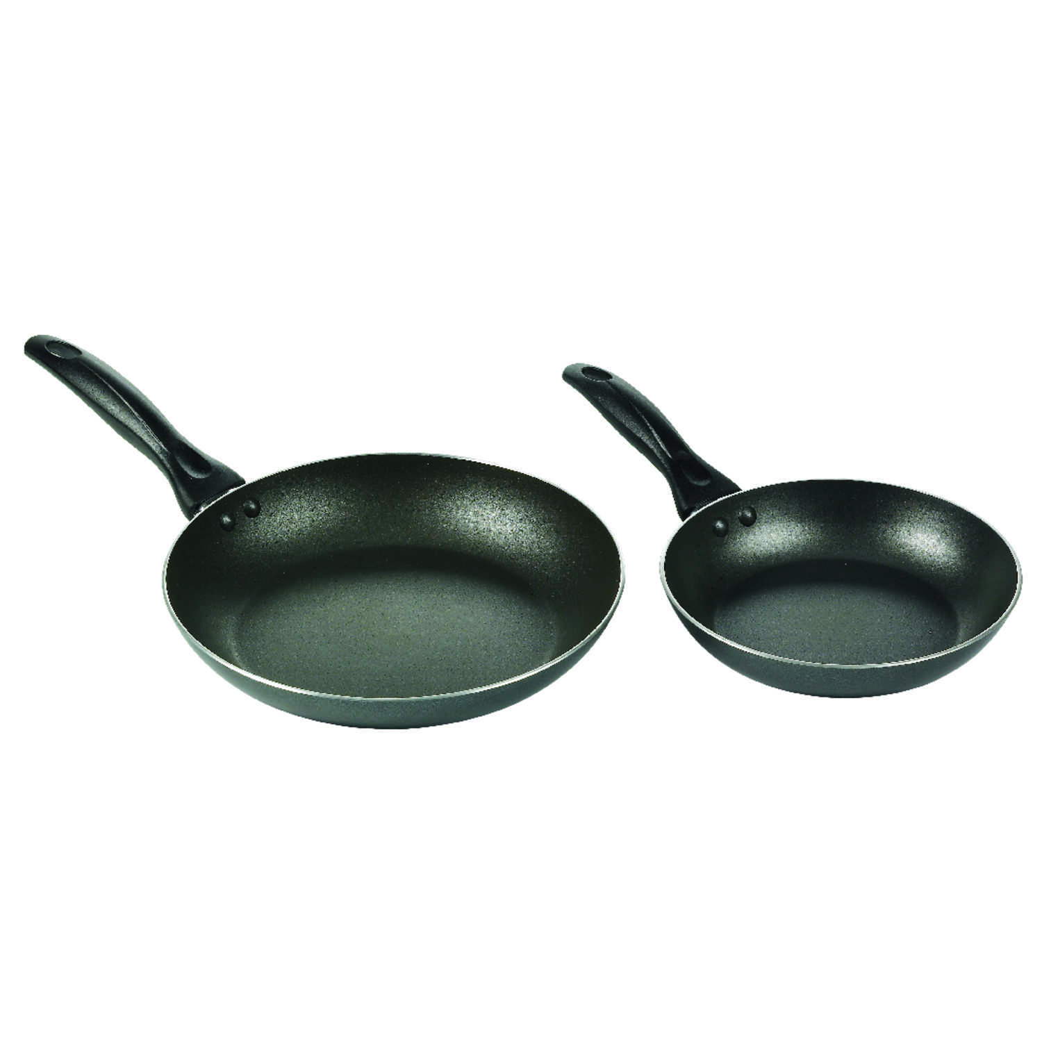 T-Fal  Aluminum  Fry Pan Set  8 & 10 in. Black