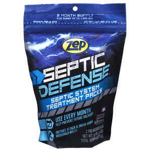 Zep  Packets  Septic Treatment  4 oz.