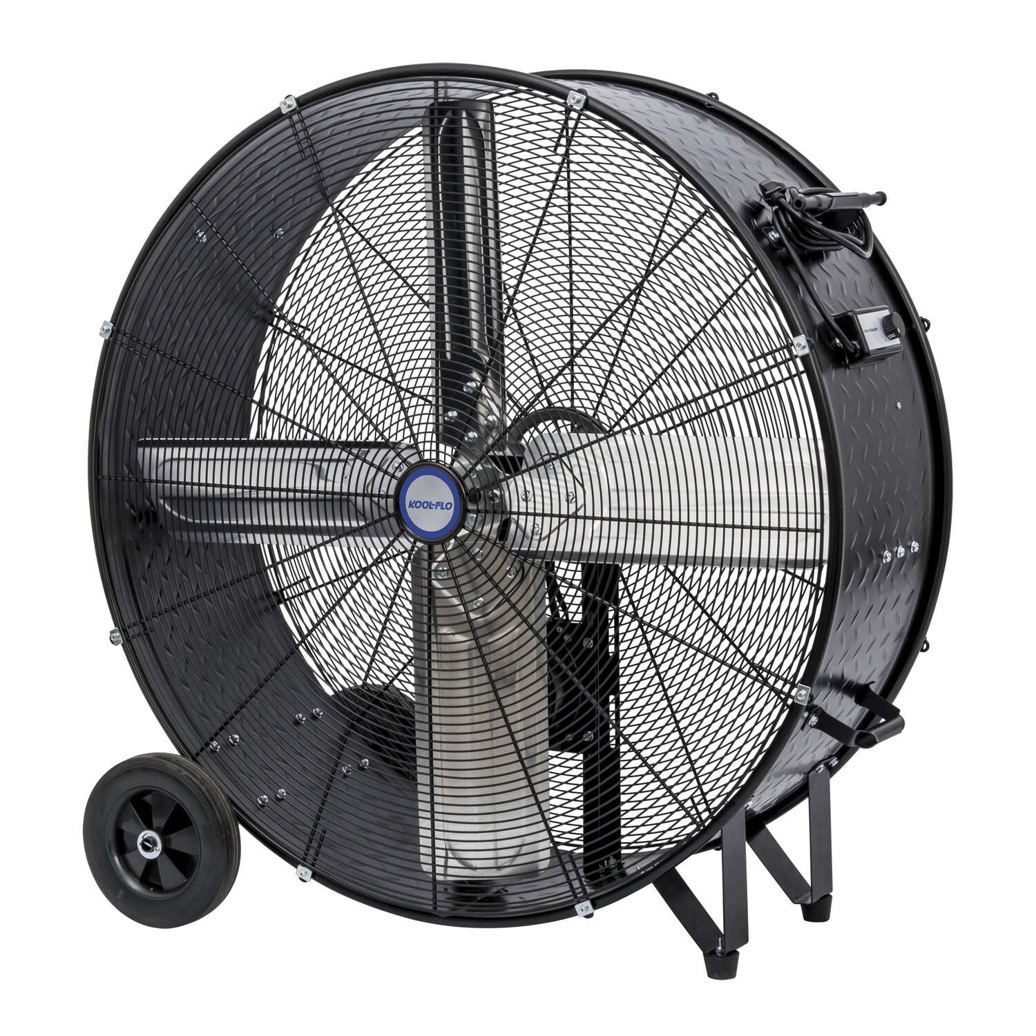 KOOL-FLO  48.9 in. H x 42 in. Dia. 2 speed Electric  Drum Fan