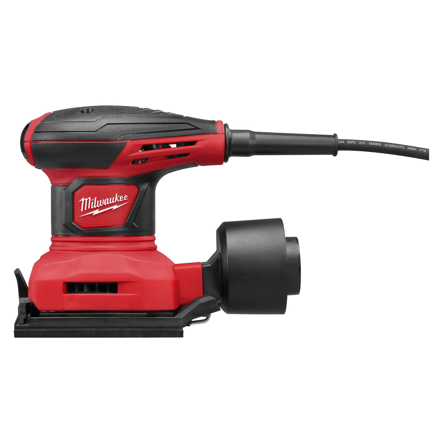 Milwaukee  Corded  1/4 in. Kit 3 amps Complete Sander  14000 opm Red  120 volt