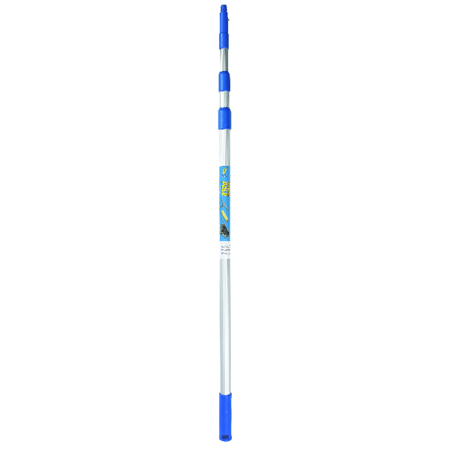 Ettore  REA-C-H  Telescoping 8  L x 1 in. Dia. Aluminum  Extension Pole