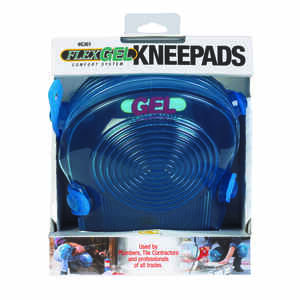 CLC Work Gear  7.75 in. L x 5.25 in. W Gel  Knee Pads  Blue  Non-Marring