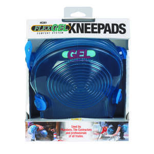 CLC Work Gear  7.75 in. L x 5.25 in. W Knee Pads  Blue  Non-Marring Gel
