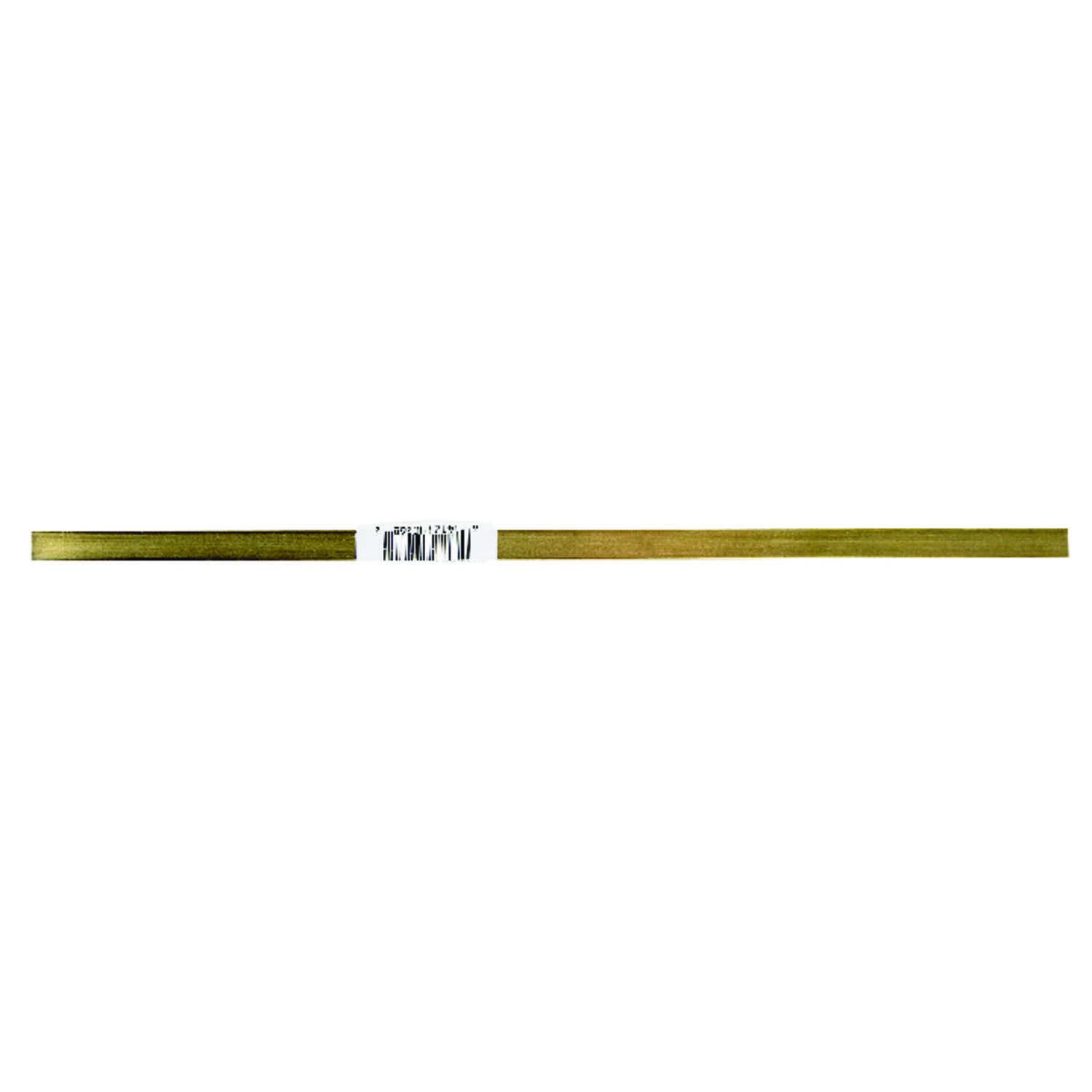 K&S  12 in. L Rectangular  Brass Tube  1