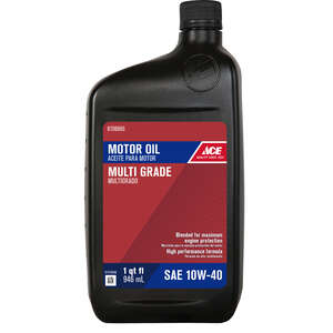 Ace  10W-40  4 Cycle Engine  Motor Oil  1 qt.