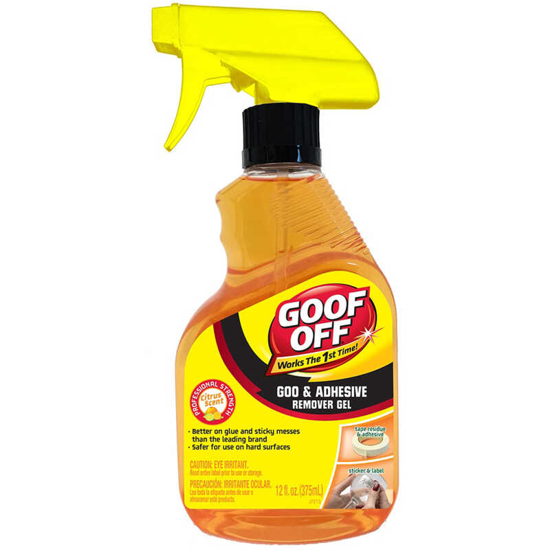 Goof Off  Gel  Adhesive Remover  12 oz.