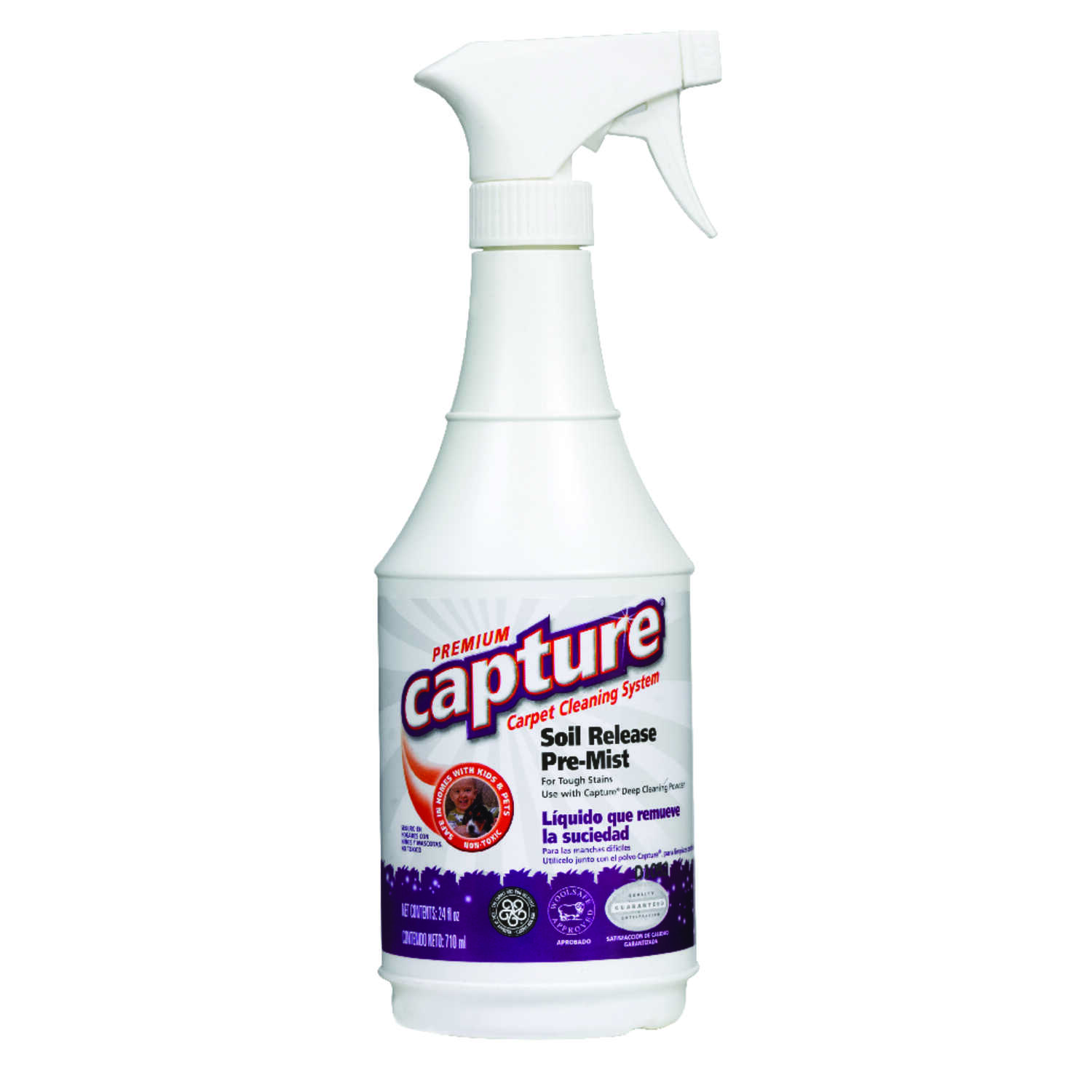 Capture  Soil Release  Carpet Cleaner  24 oz. Liquid