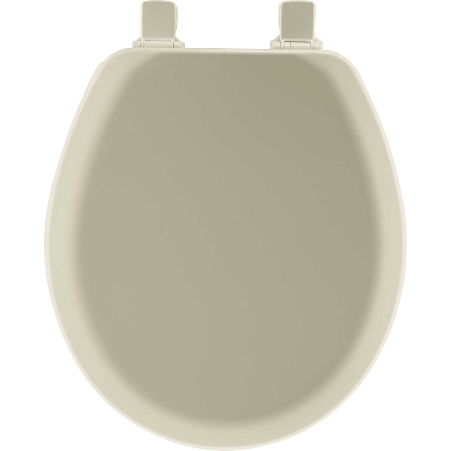 Mayfair  Never Loosens  Round  Bone  Molded Wood  Toilet Seat