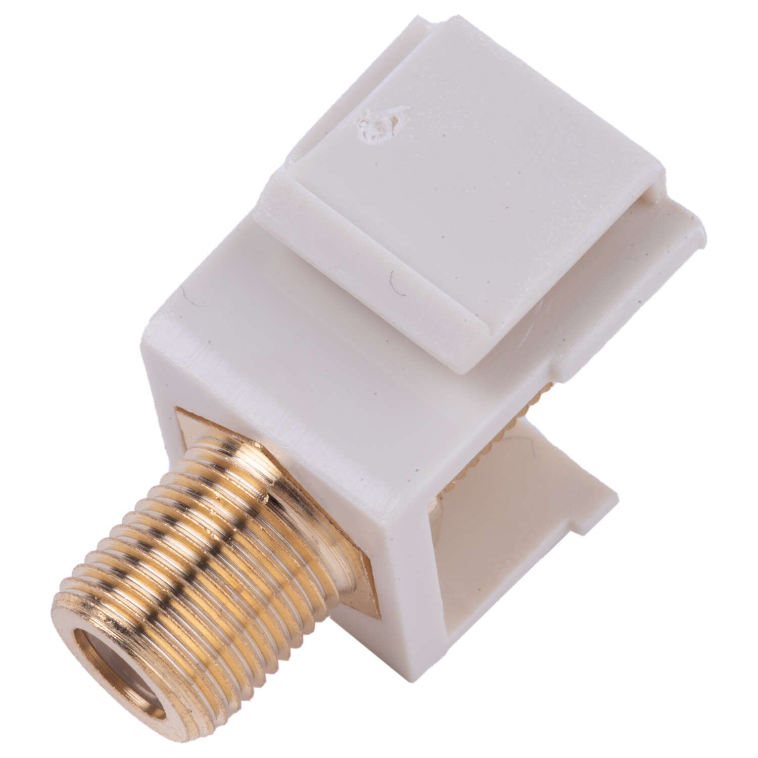 Monster Cable  Push-On  F  Coaxial F Connector Keystone Insert  1