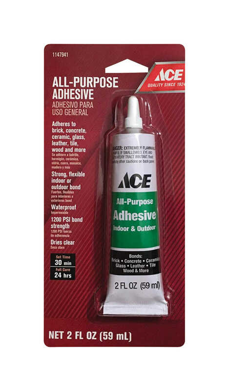 Ace  High Strength  Liquid  All Purpose Adhesive  2 oz.