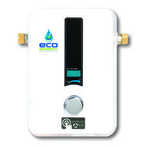 Ecosmart  Tankless Water Heater  Electric  N/A gal. 12 in. H x 9-3/4 in. L x 3-3/4 in. W