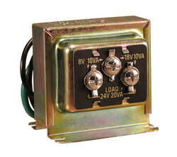Heath Zenith Metal Wired Door Chime Transformer