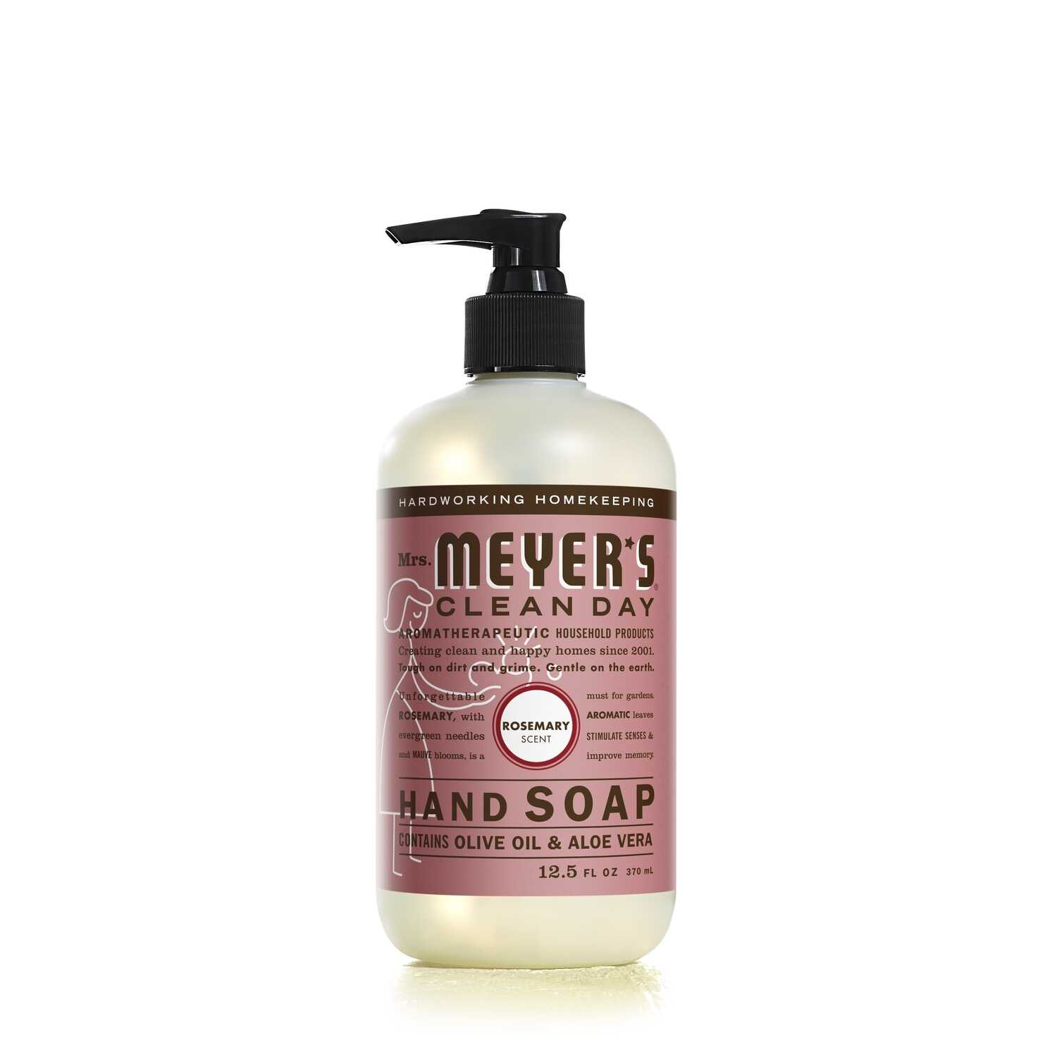 Mrs. Meyer's  Clean Day  Organic Rosemary Scent Liquid Hand Soap  12.5 oz.