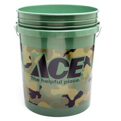 Ace 5 gal. Utility Bucket Camouflage