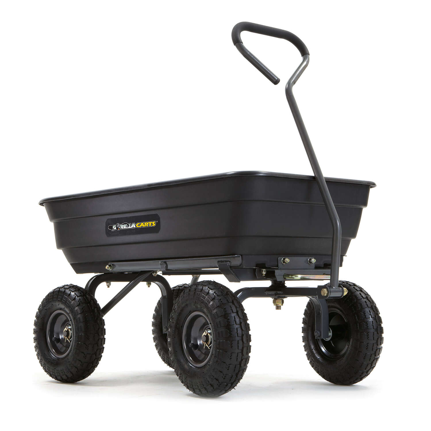 Gorilla Carts  Poly  Dump Cart  600 lb. capacity