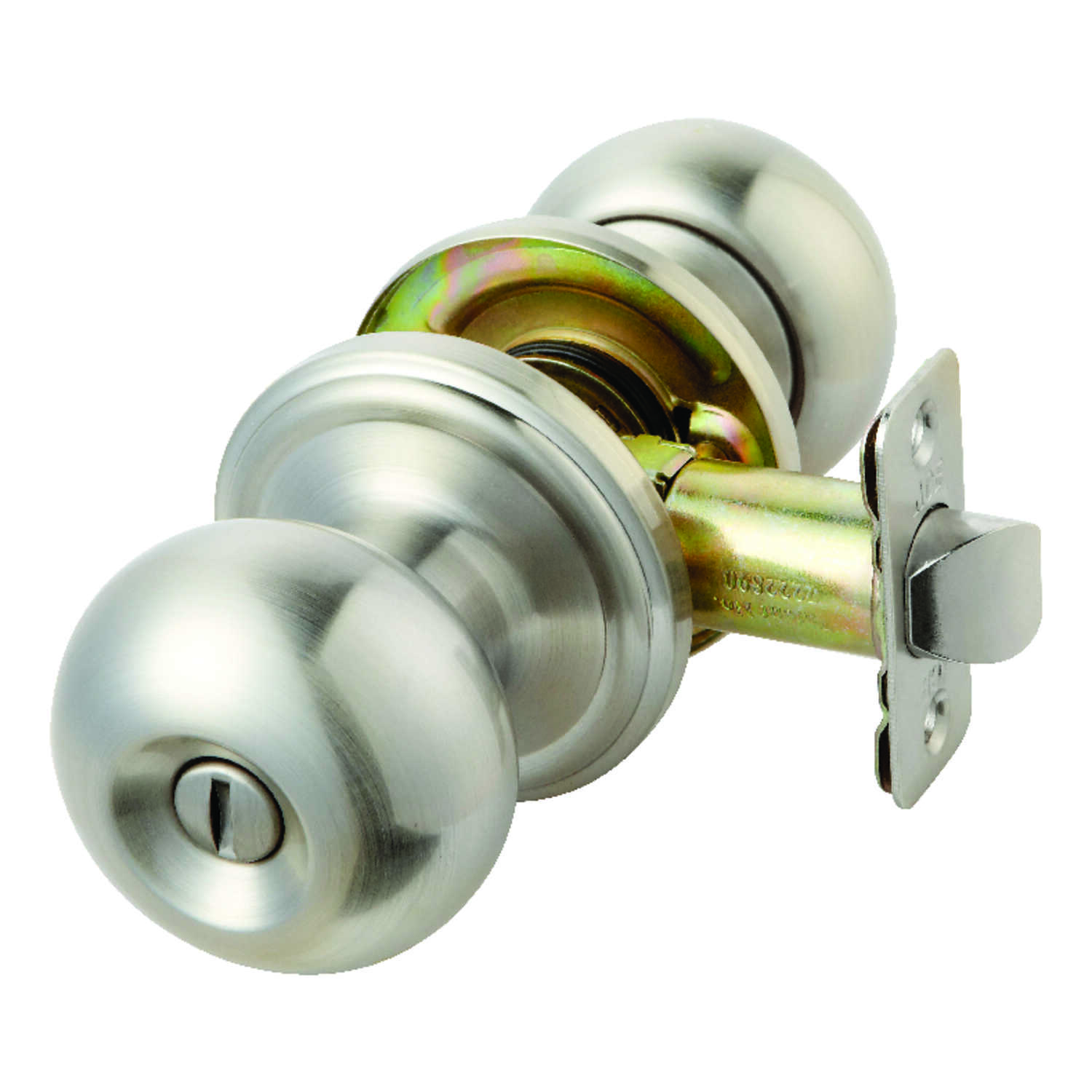 Ace  Colonial  Satin Nickel  Steel  ANSI/BHMA Grade 3  1-3/4 in. Privacy Lockset