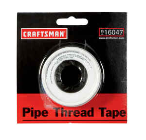 Craftsman  White  520 in. L x 1/2 in. W Thread Seal Tape  1 lb.