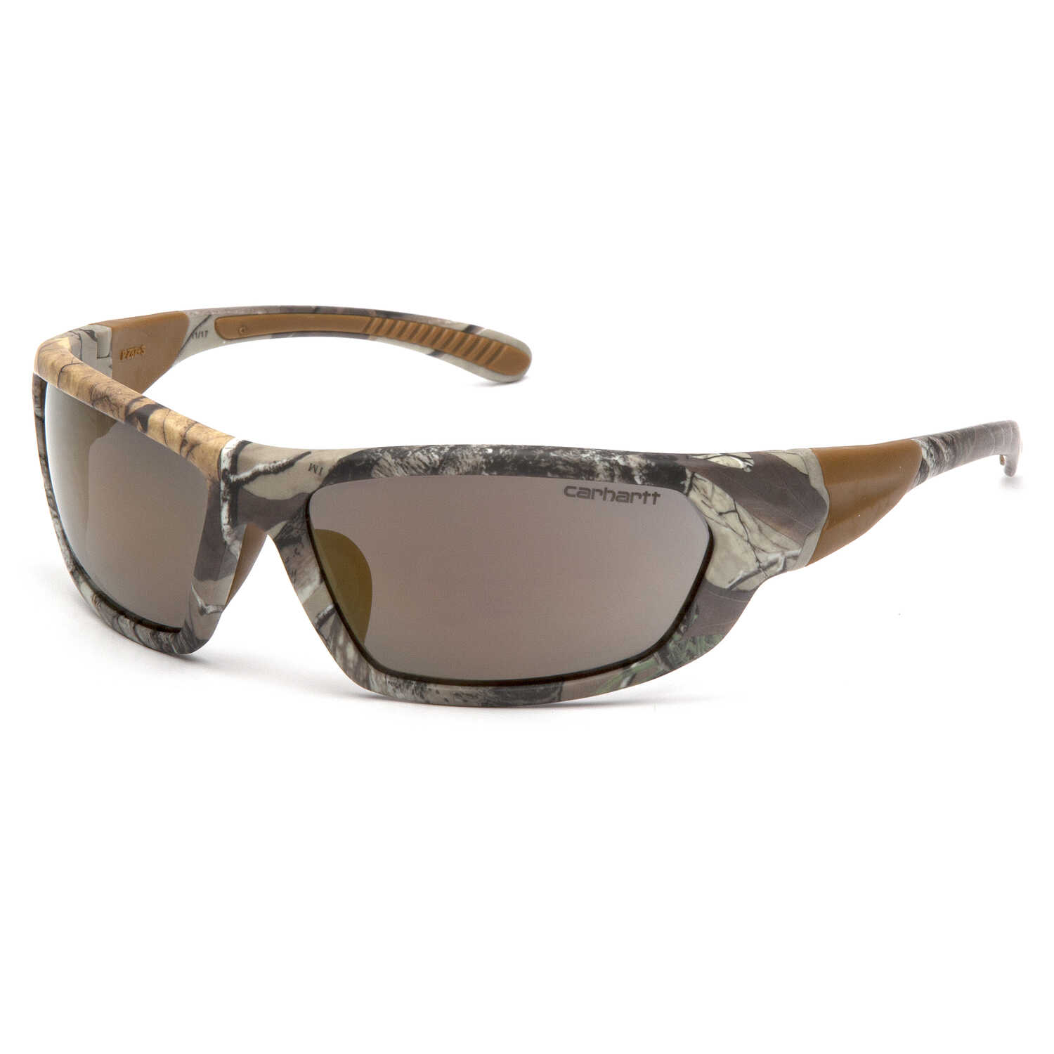 Carhartt  Carbondale  Anti-Fog Safety Glasses  Antique Mirror Lens Realtree Camo Frame 1 pc.