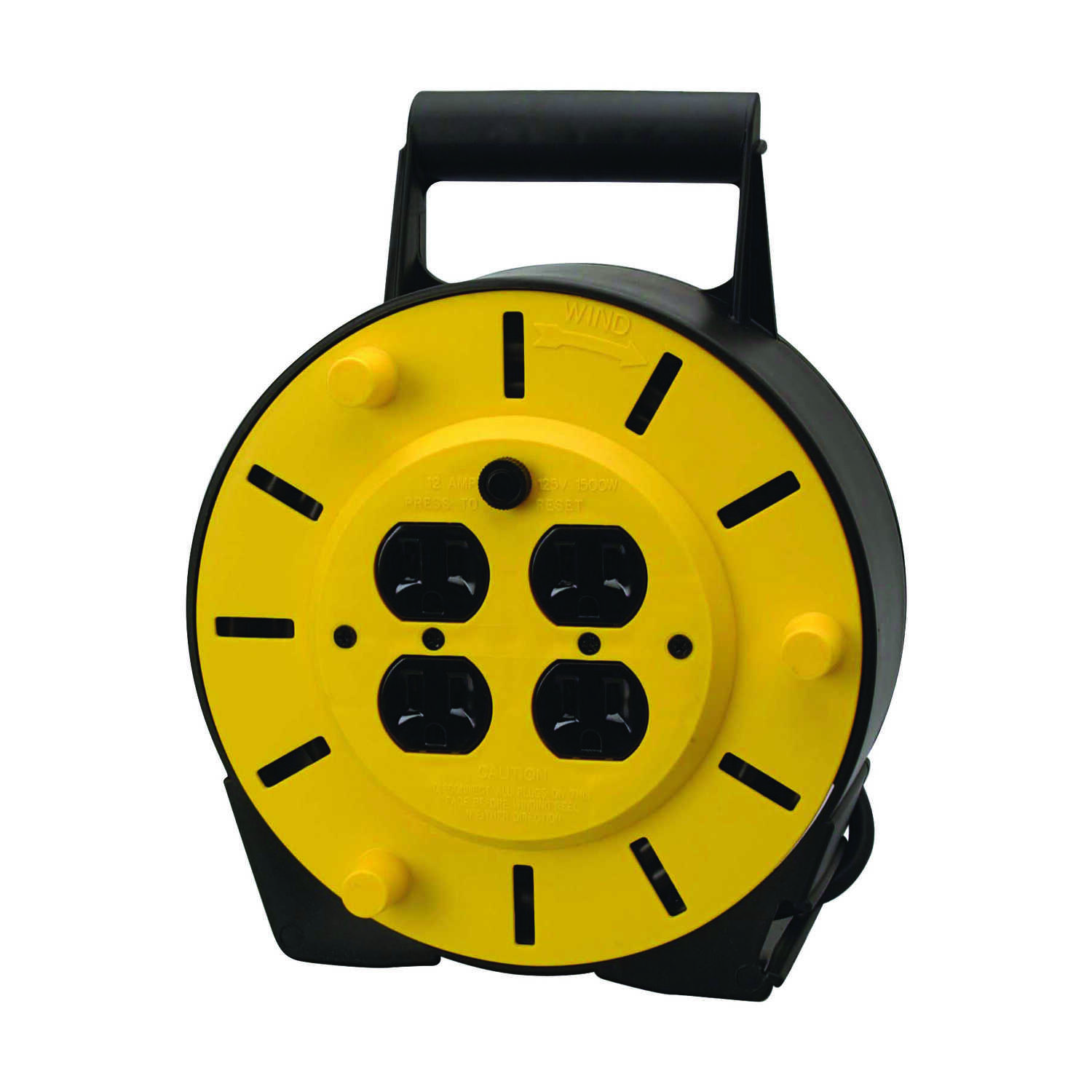 Ace  25 ft. L Plastic  Cord Reel
