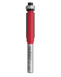 Freud  3/8 in. Dia. x 3/8 in.  x 2-13/16 in. L Carbide  Bearing Flush Trim  Router Bit