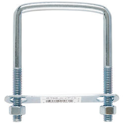 Hampton  3/8 in.  x 3 in. W x 4 in. L Coarse  Zinc-Plated  Steel  Square Bend U Bolt