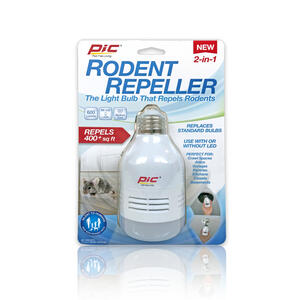 PIC  For Rodents Sonic Pest Repeller Light Bulb
