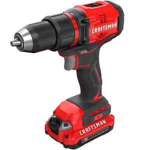 Craftsman  20V MAX  20 volt 1/2 in. Brushless Cordless Compact Drill/Driver  Kit 1900 rpm 2 speed