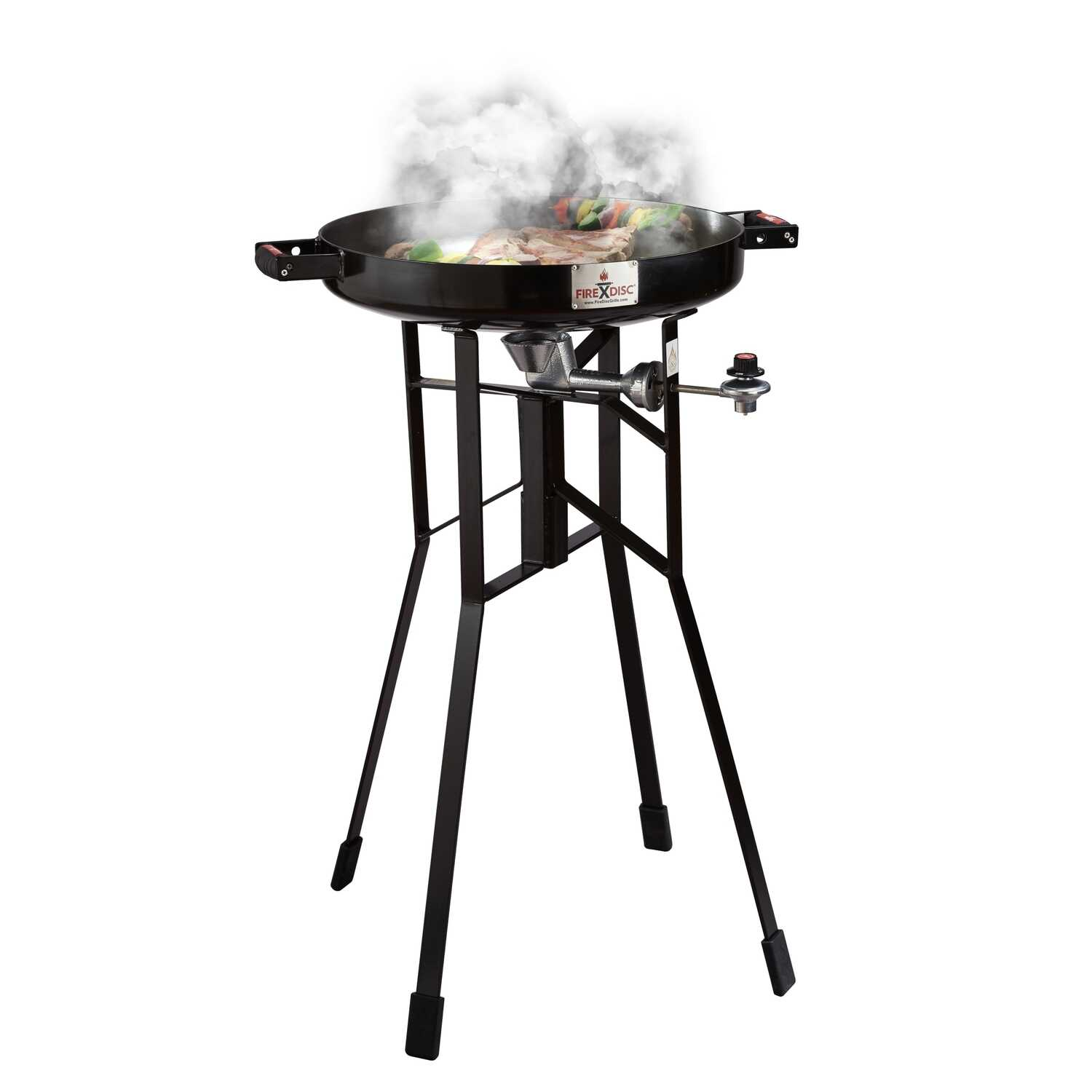 FireDisc  1 burners Propane  Grill  Black  40000 BTU