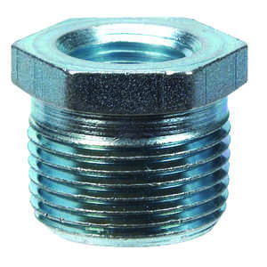 Billco  3/8 in. MPT  1/8 in. Dia. MPT  Galvanized Steel  Hex Bushing