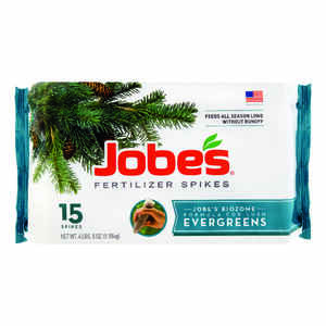 Jobe's  Evergreens  13-3-4  Fertilizer Spikes  15 pk