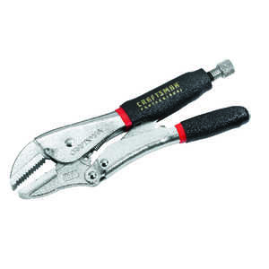 Craftsman  10  Locking Pliers  Black  Alloy Steel  1 pk